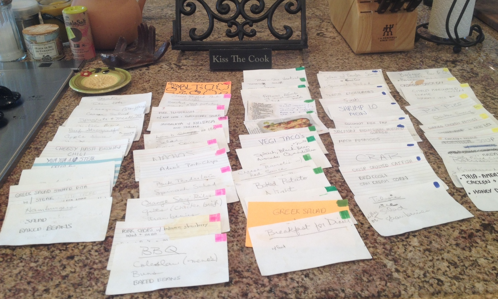 Meal Planning Made Easy with My Friend, Katherine Macon's organizer