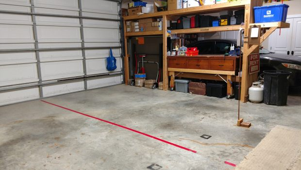 Garage Organizing with Macon's My Friend, Katherine
