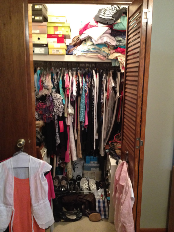 Macon My Friend, Katherine organizes closets