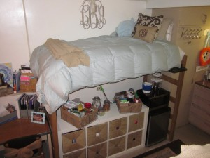 Dorm Room Design My Friend, Katherine